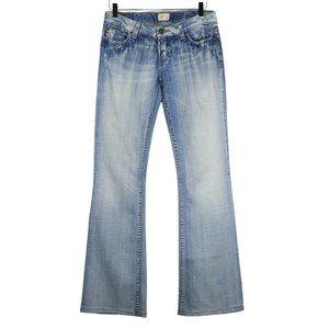 BKE Buckle Jeans Sabrina Bootcut Distressed 30